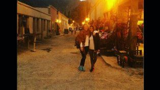Agustina Kämpfer viajó con una amiga a Salta y Jujuy