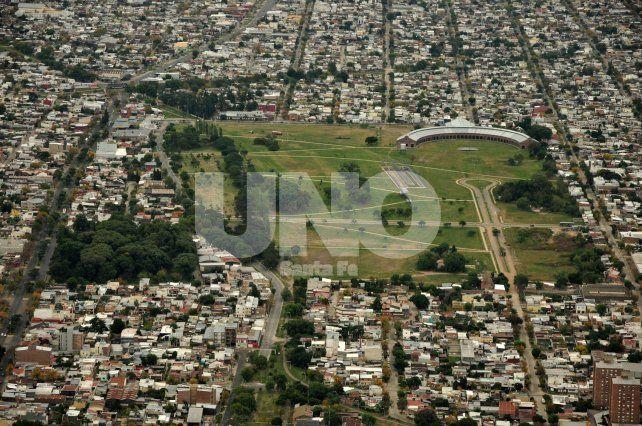 Potencial. El espacio verde es uno de los más concurridos en el ámbito de la capital provincial.