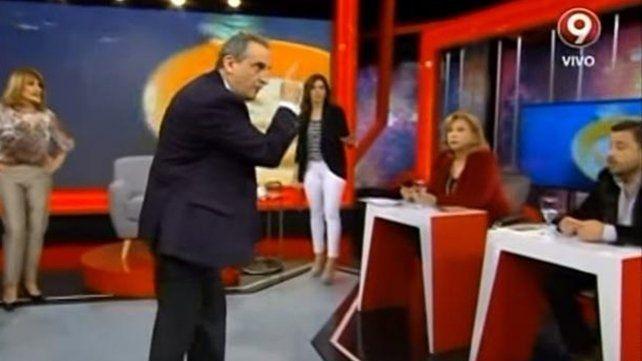Guillermo Moreno mantuvo un duro cruce con un periodista