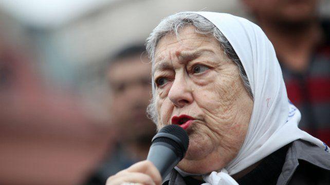 El juez Martínez De Giorgi declaró a Hebe de Bonafini en rebeldía y ordenó su detención