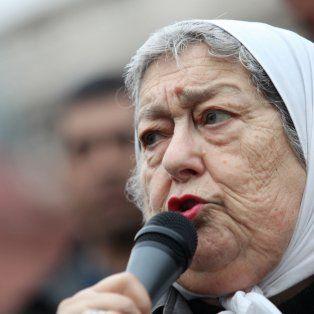 el juez martinez de giorgi declaro a hebe de bonafini en rebeldia y ordeno su detencion