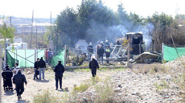 Una mujer y tres menores fallecieron en un incendio en Mendoza