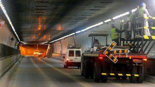 El 70 por ciento del Túnel Subfluvial ya cuenta con nueva iluminación LED