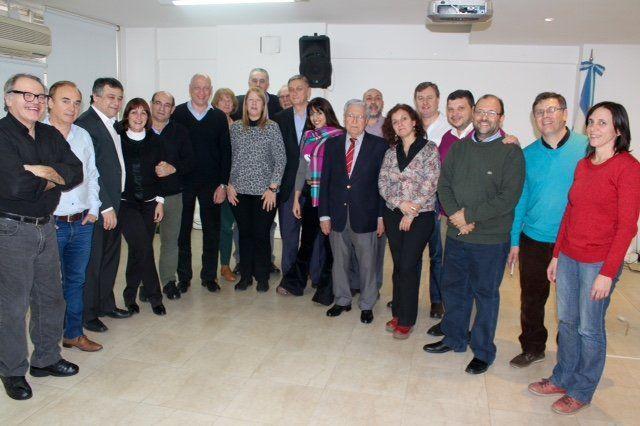 Autoridades nacionales del Frente Progresistas se reunieron en Buenos Aires para analizar la actualidad nacional