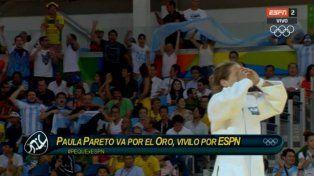 La Peque Pareto clasificó a la final y ganó la primera medalla para Argentina
