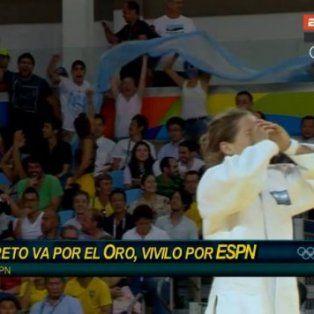 la peque pareto clasifico a la final y gano la primera medalla para argentina