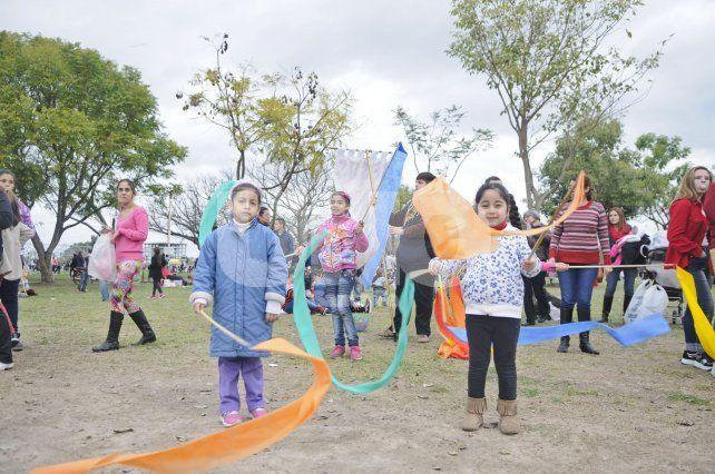 Las actividades están orientadas a promover las diferentes capacidades de los más chicos en distintas áreas