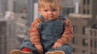 Así se ve el mini protagonista de Cuidado bebé suelto, hoy