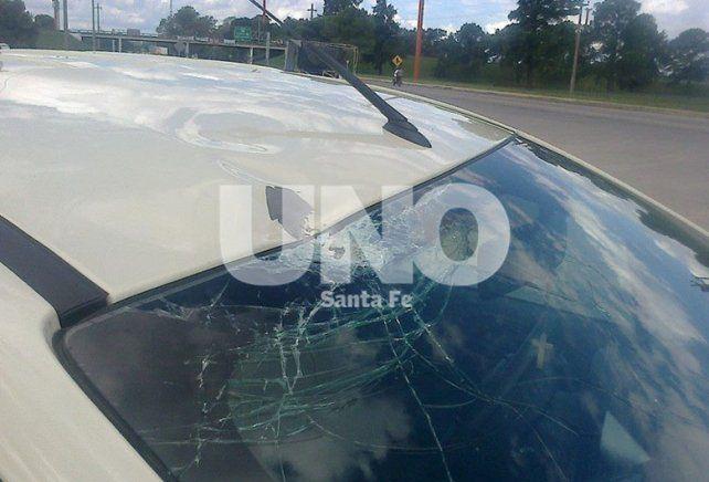 Circunvalación Oeste: detienen a dos jóvenes por arrojar piedras a vehículos