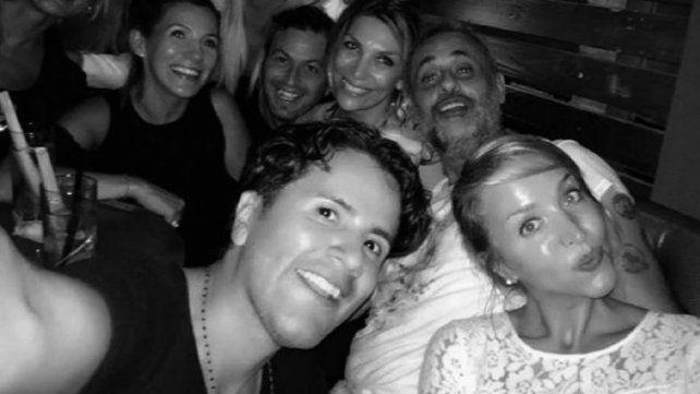 Jorge Rial y una noche de soltero en Miami
