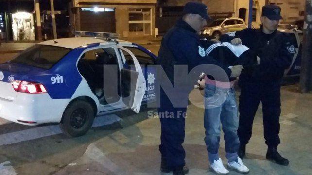Violencia sin fin: un detenido con armas y balas en Bº San Lorenzo