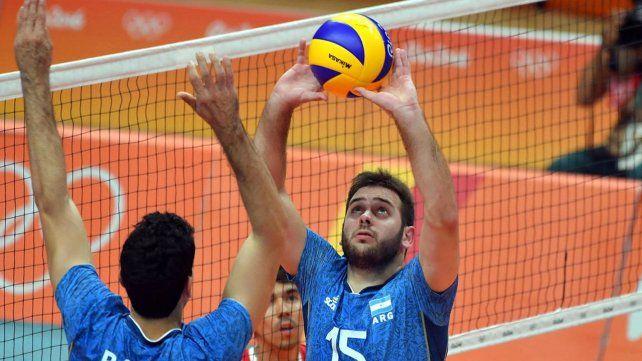 El vóley argentino le ganó a Irán en su debut