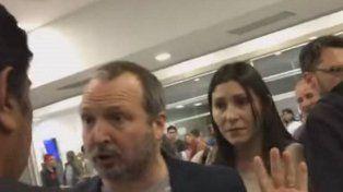 Sabatella sufrió un escrache en un aeropuerto y no pudo viajar