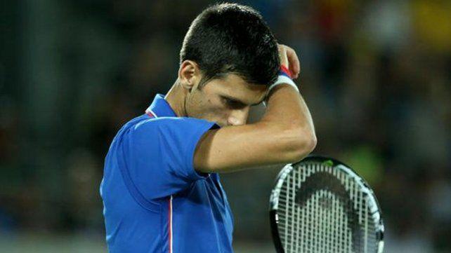 El llanto de Djokovic tras la derrota frente a Del Potro