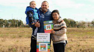 Mi Tierra, Mi Casa: destinan terrenos a trabajadores de la CGT Santa Fe