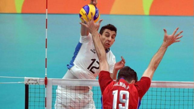 La selección argentina de Voley le ganó al actual campeón olímpico