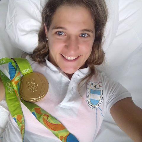 Así se entrenó Paula Pareto para ganar el oro en Río