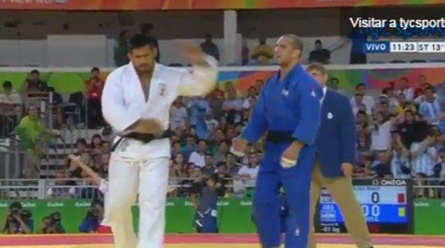 Polémica en Judo: el libanés se calentó feo con Lucenti