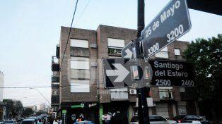 De madrugada. El crimen sucedió en la Recoleta santafesina en las primeras horas del 13 de octubre.