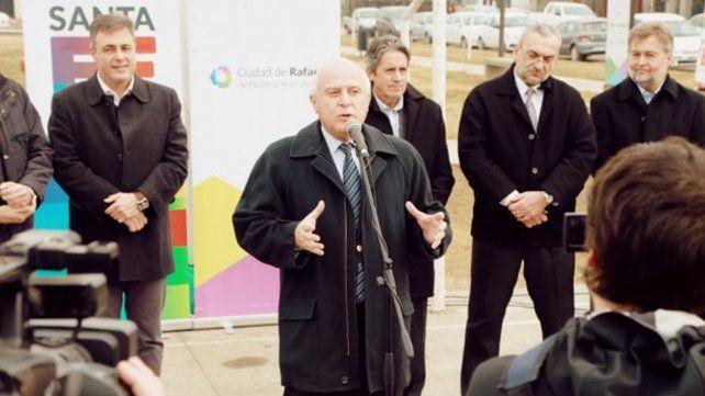Lifschitz dijo que se manejan las tensiones y no hay conflicto con el radicalismo en Santa Fe