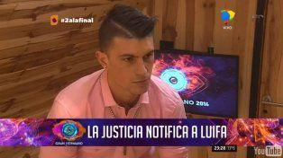 La noche negra de Luifa: notificación judicial y nominación