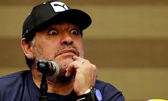 Maradona pegó de lo lindo y no se salvó ni el Vasco Olarticoechea