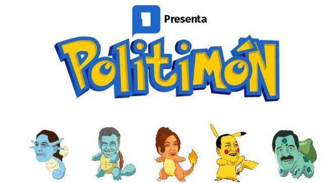 Así sería Pokémon GO con los políticos argentinos