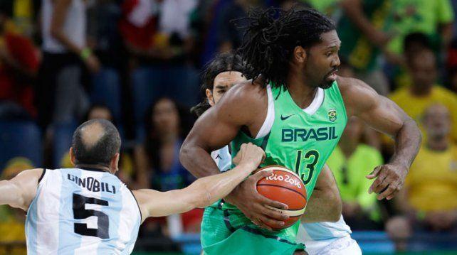 Basquet Olímpico: Argentina venció a Brasil en un partido para el infarto