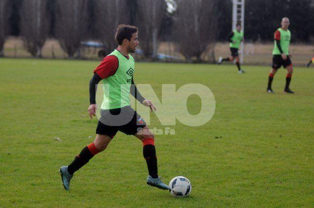 Lucas Ceballos se consolida como elemento titular