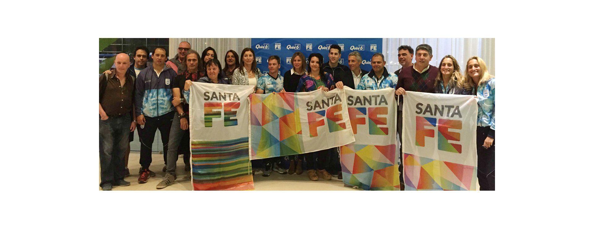La provincia agasajó a la delegación santafesina que viajó a los Juegos Olímpicos
