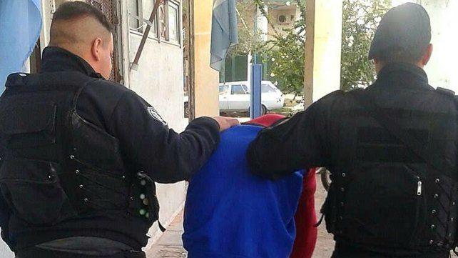 El detenido