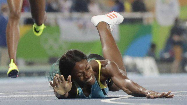 La definición más infartante de los Juegos: se tiró de cabeza a la meta...¡y ganó!