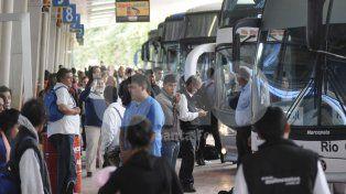 Desde este domingo aumenta el transporte interurbano