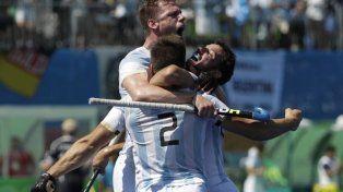 Los Leones golearon a Alemania y se clasificaron a la final en los Juegos Olímpicos
