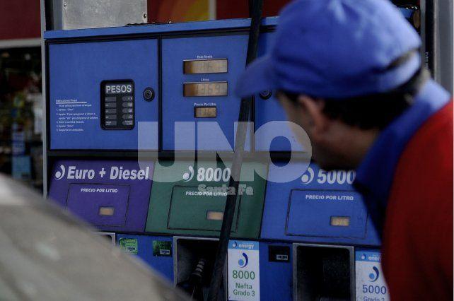 Caída. De acuerdo con el Boletín de Coyuntura provincial el consumo de gasoil bajó 17% interanual