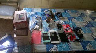 Laguna Paiva: aprehendieron a una pareja de ladrones y recuperaron mercadería robada