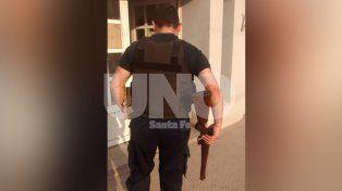 B° Santa Rosa de Lima: cayó un violento tiratiros con una carabina calibre 22