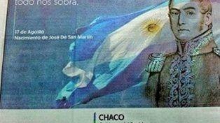 El gobierno de Chaco confundió la efeméride y tuvo que pedir disculpas