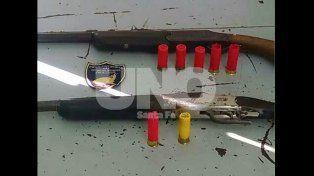 Colastiné: persecución y aprehensión de un delincuente con dos escopetas