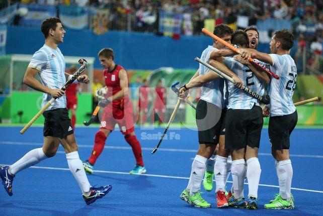 Otro oro: Los Leones vencieron 4-2 a Bélgica y se llevaron la medalla olímpica