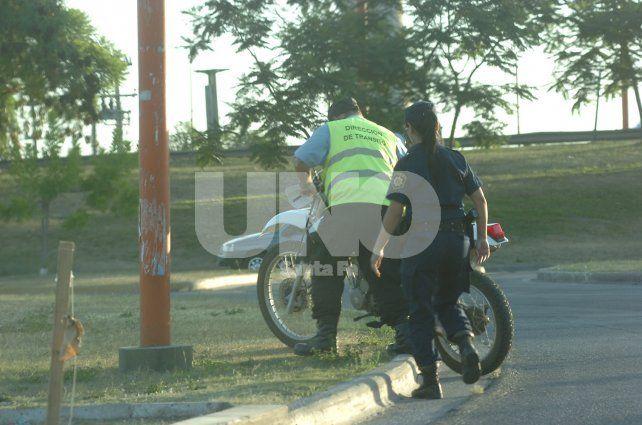 En conjunto. La Municipalidad espera colaboración policial.