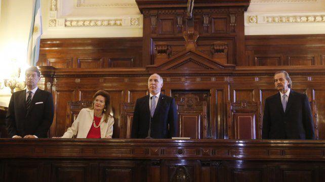 Sentencia. Fue firmado por los jueces Héctor Rosatti