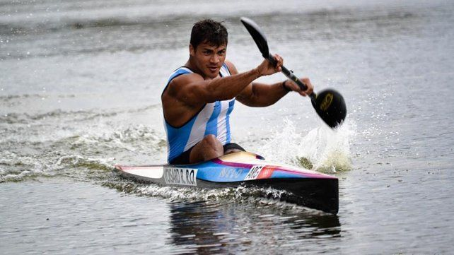 El santafesino Rubén Rézola se quedó afuera de la final del K1 200 metros