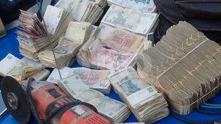 Rosario: frustraron asalto, apresaron a cinco delincuentes y rescataron 150 mil pesos en efectivo