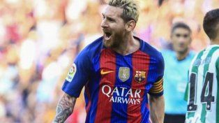 Barcelona apabulló a Betis: de zurda y al segundo palo, el golazo de Messi