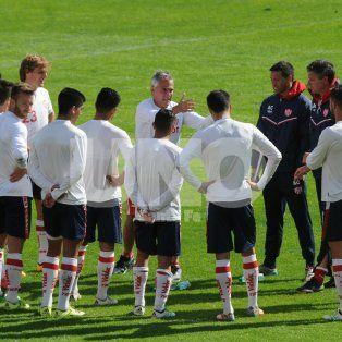 Las indicaciones del técnico marcan que no estuvo conforme, con lo que fue el rendimiento del equipo.
