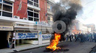 Conflicto. Cabe recordar que hace dos años se pretendía trasladar la sede local a Rosario y eso generó malestar en los trabajadores.