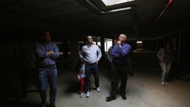 Las obras de las cocheras en la Plaza Alberdi tienen un avance del 75%