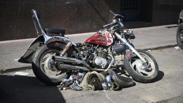Un exjugador de Colón huyó tras una alcoholemia positiva, chocó y mató a un motociclista