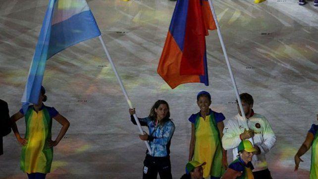 Paula Pareto, la abandera argentina en el cierre de Río 2016